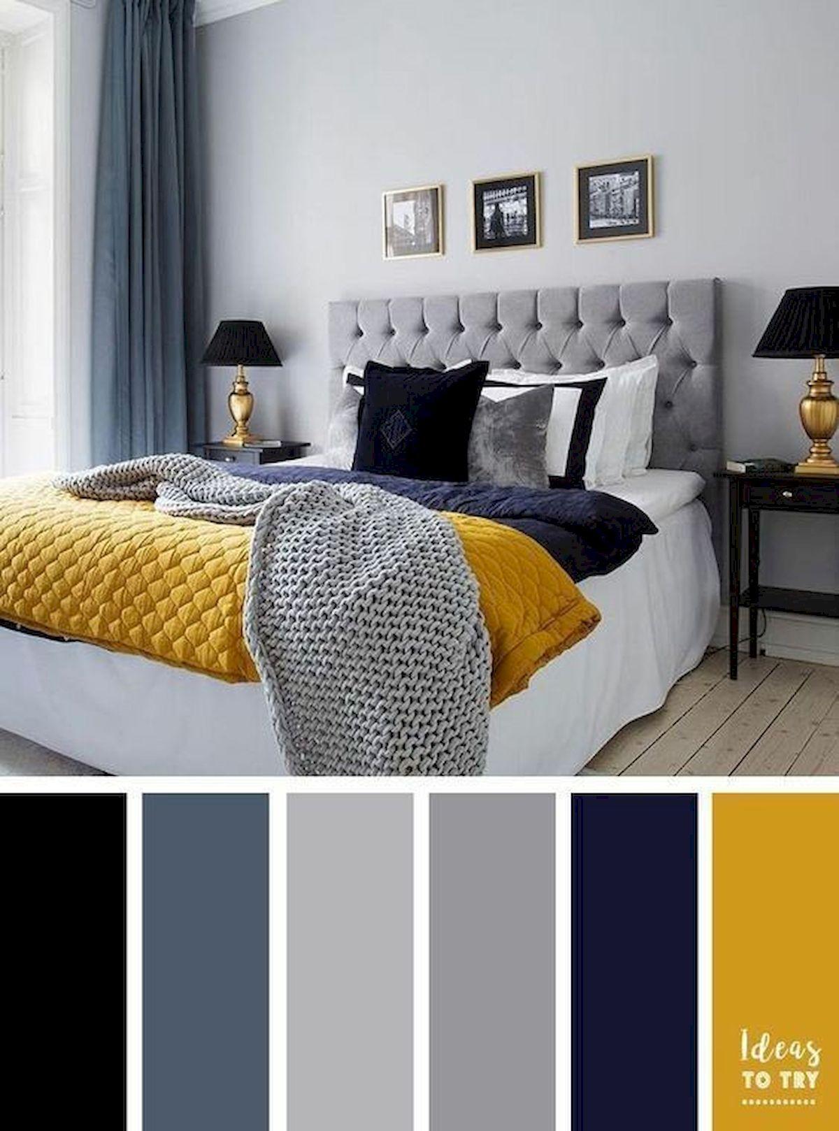 40 Inspiring Bedroom Colour Ideas (20)