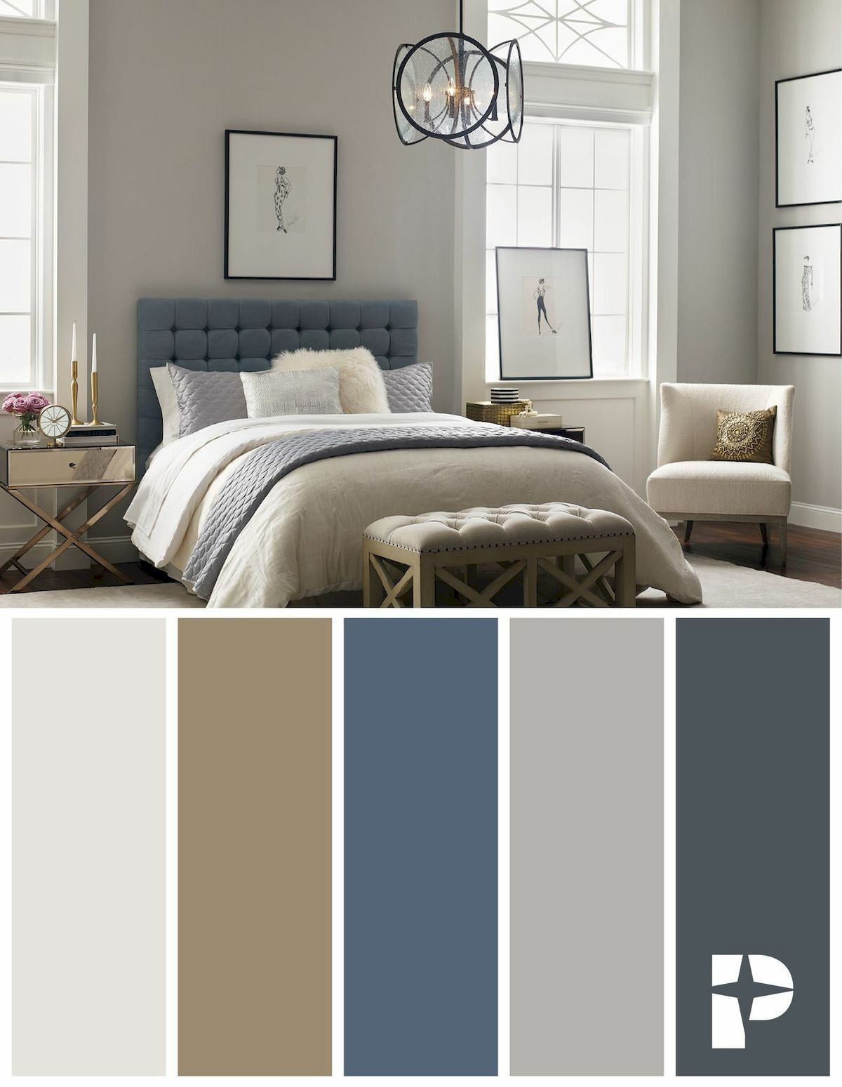 40 Inspiring Bedroom Colour Ideas (41)