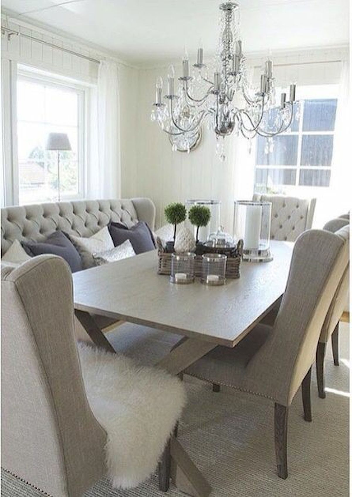50 Gorgeous Dinning Room Design and Decor Ideas (11)