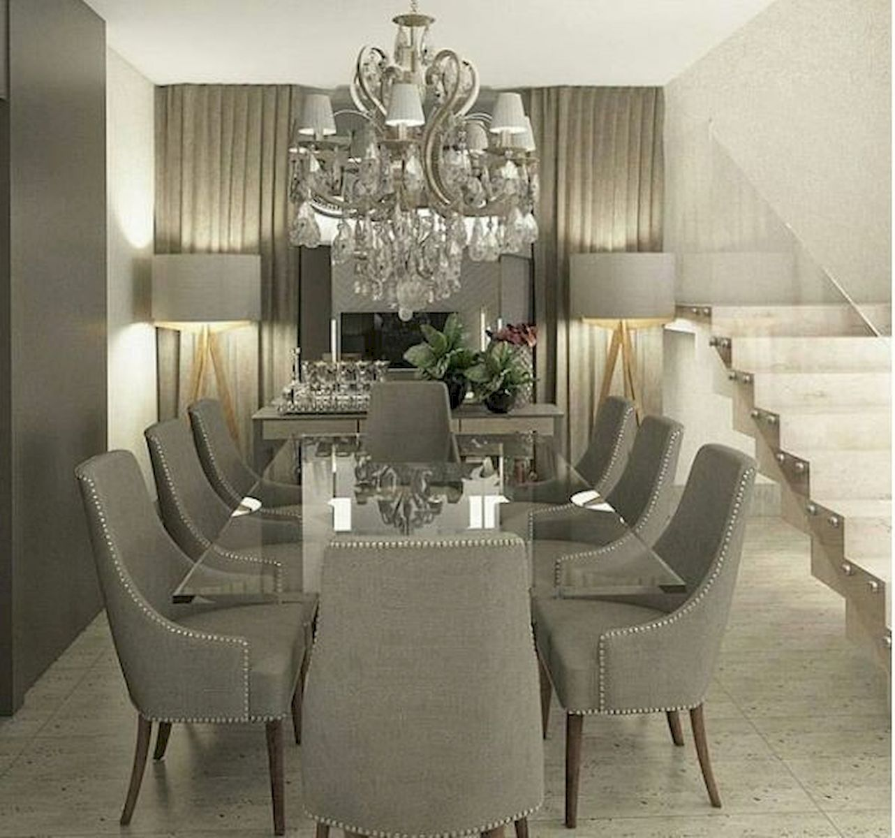 50 Gorgeous Dinning Room Design and Decor Ideas (14)