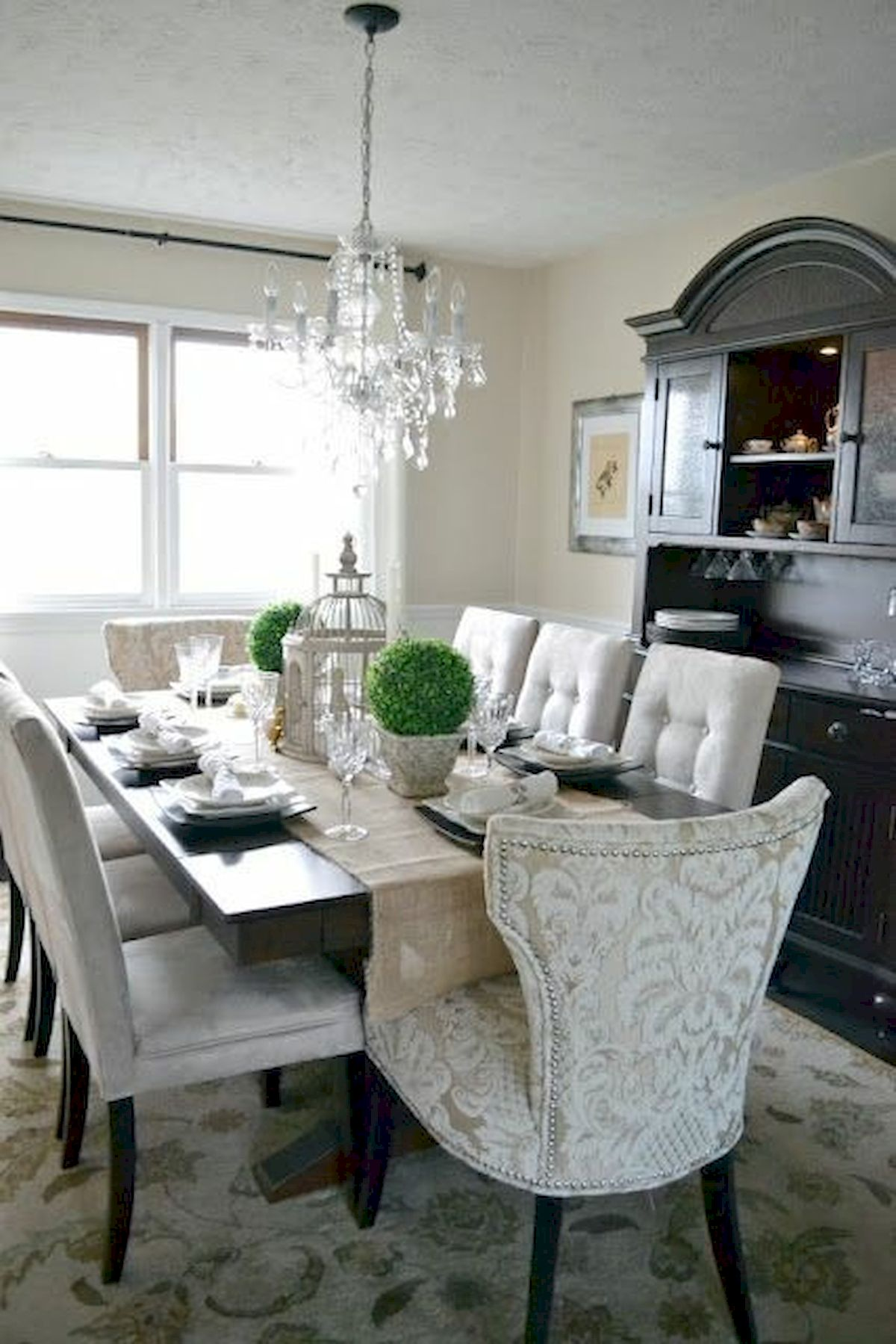 50 Gorgeous Dinning Room Design and Decor Ideas (17)