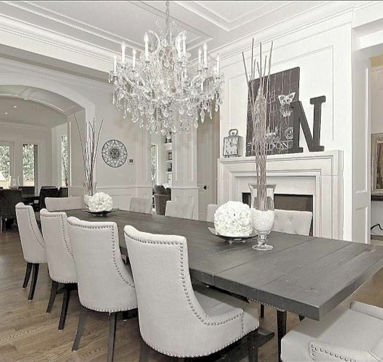 50 Gorgeous Dinning Room Design and Decor Ideas (21)