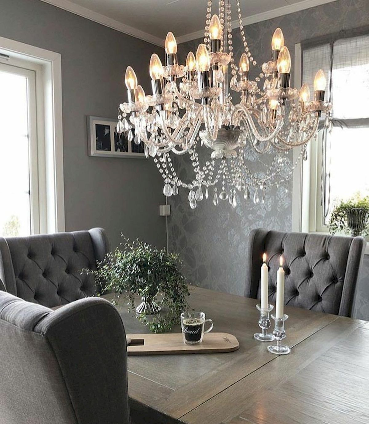 50 Gorgeous Dinning Room Design and Decor Ideas (22)