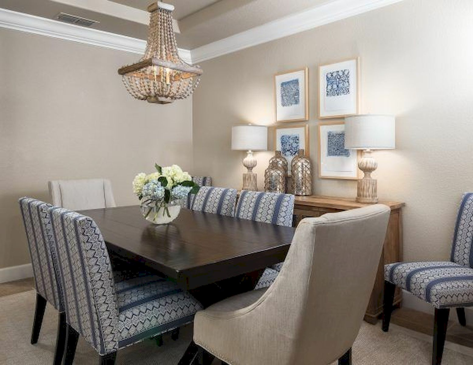 50 Gorgeous Dinning Room Design and Decor Ideas (23)