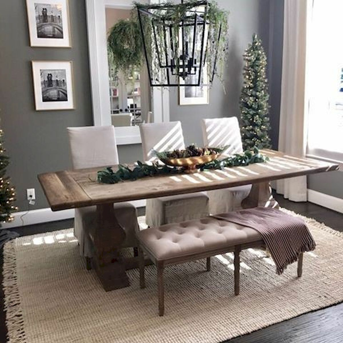 50 Gorgeous Dinning Room Design and Decor Ideas (42)