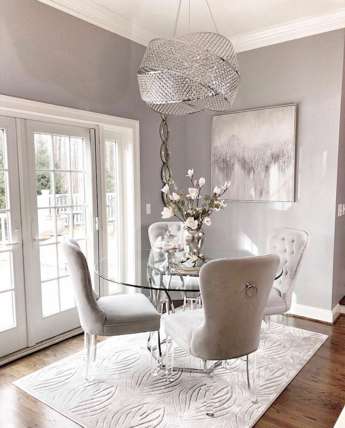 50 Gorgeous Dinning Room Design and Decor Ideas (46)