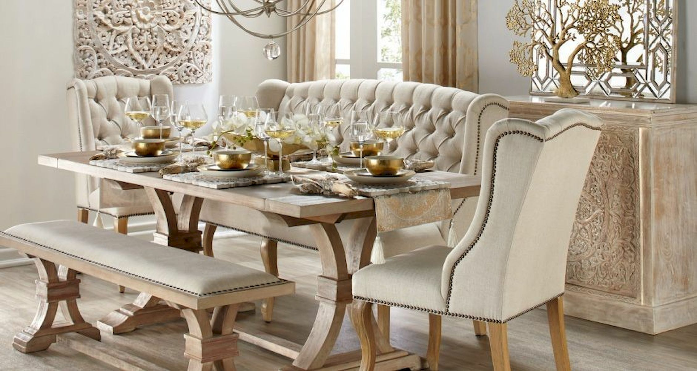 50 Gorgeous Dinning Room Design and Decor Ideas (47)