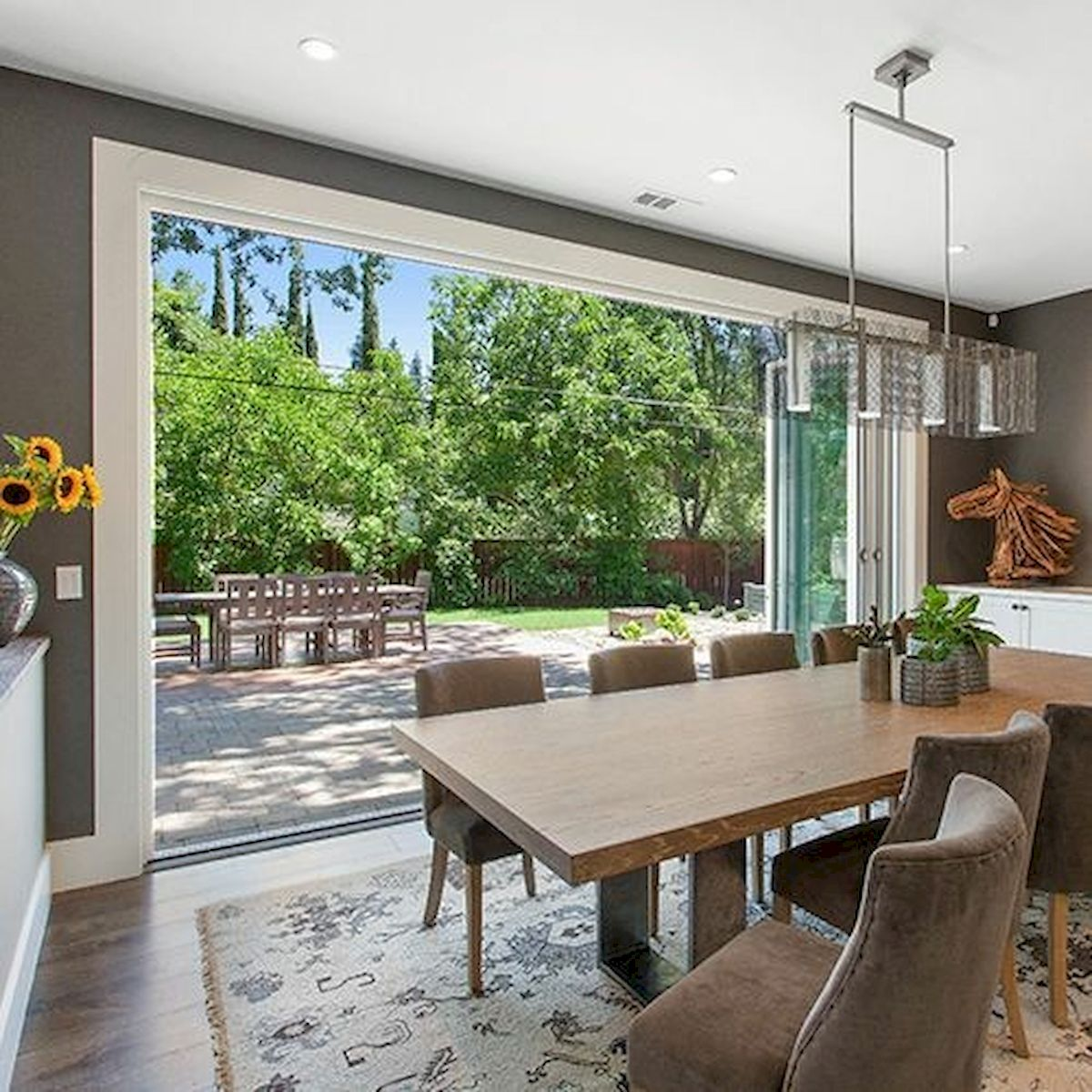 50 Gorgeous Dinning Room Design and Decor Ideas (8)
