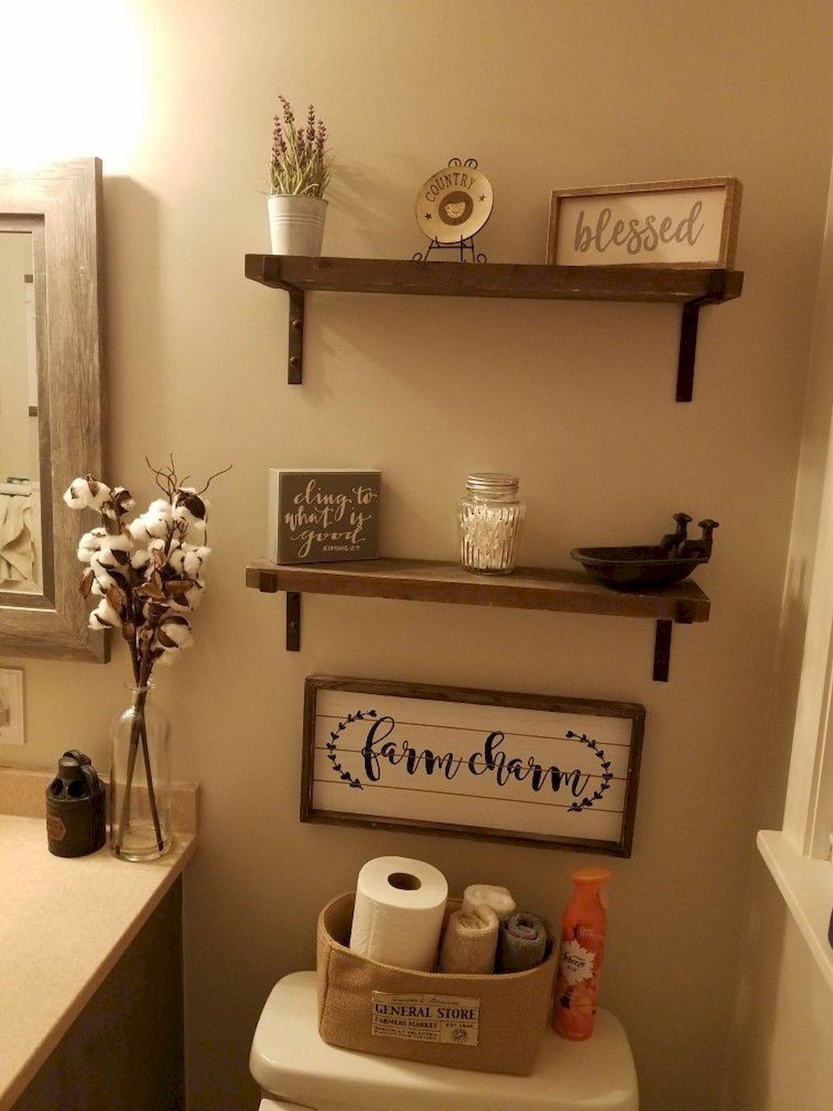 60+ Awesome Bathroom Decor and Design Ideas (45)