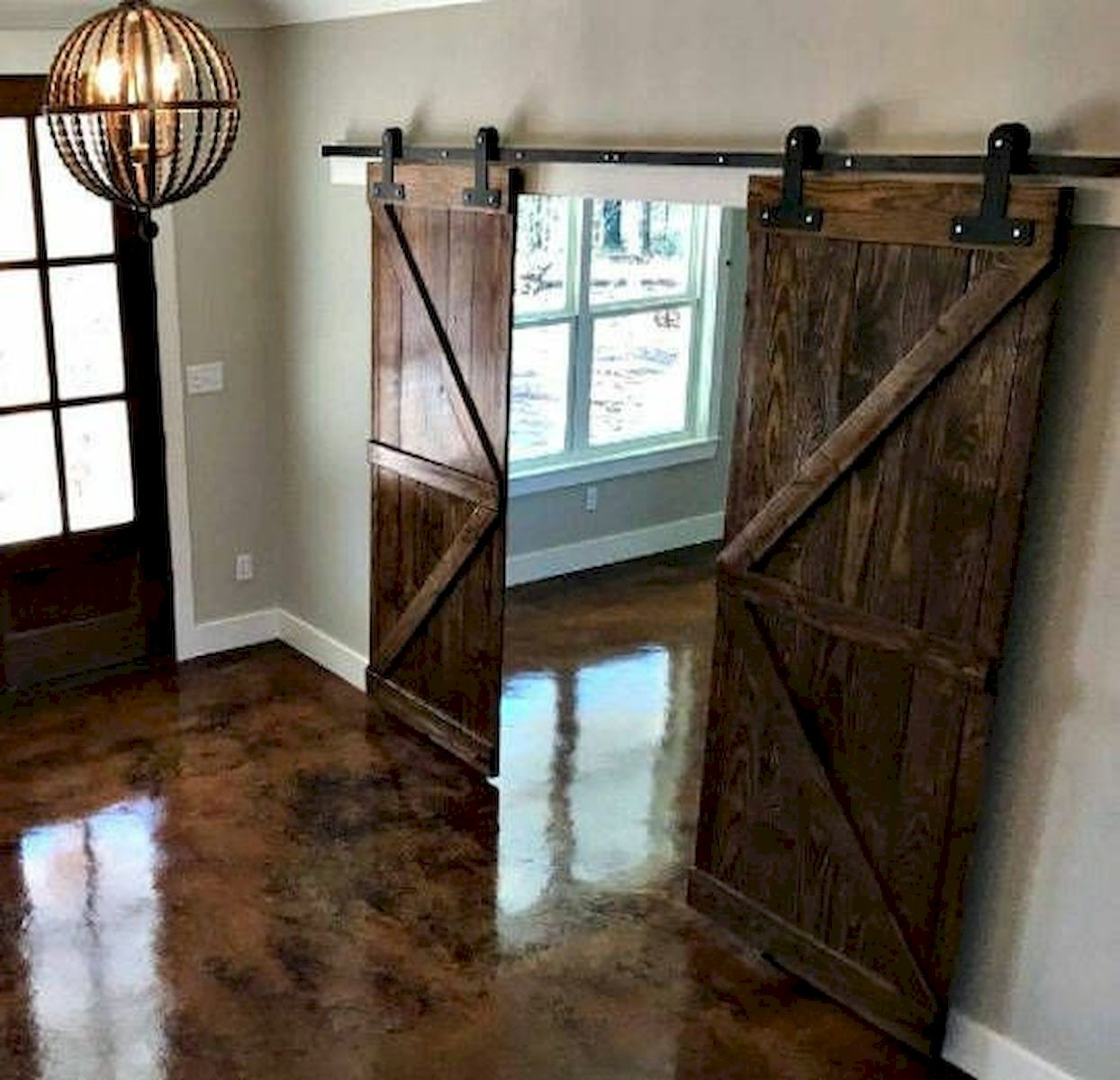 70 Rustic Home Decor Ideas for Doors and Windows (2)