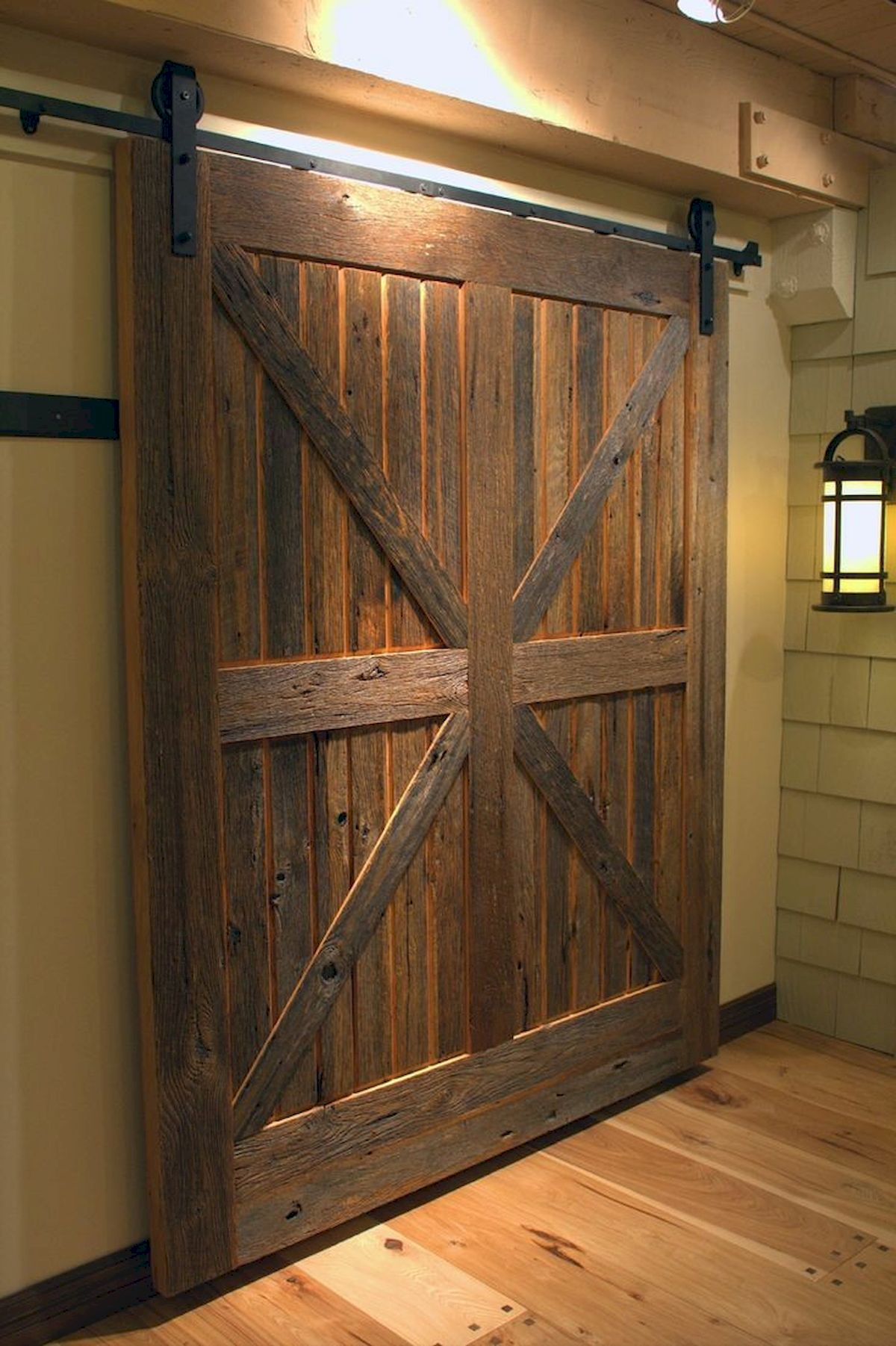 70 Rustic Home Decor Ideas for Doors and Windows (33)