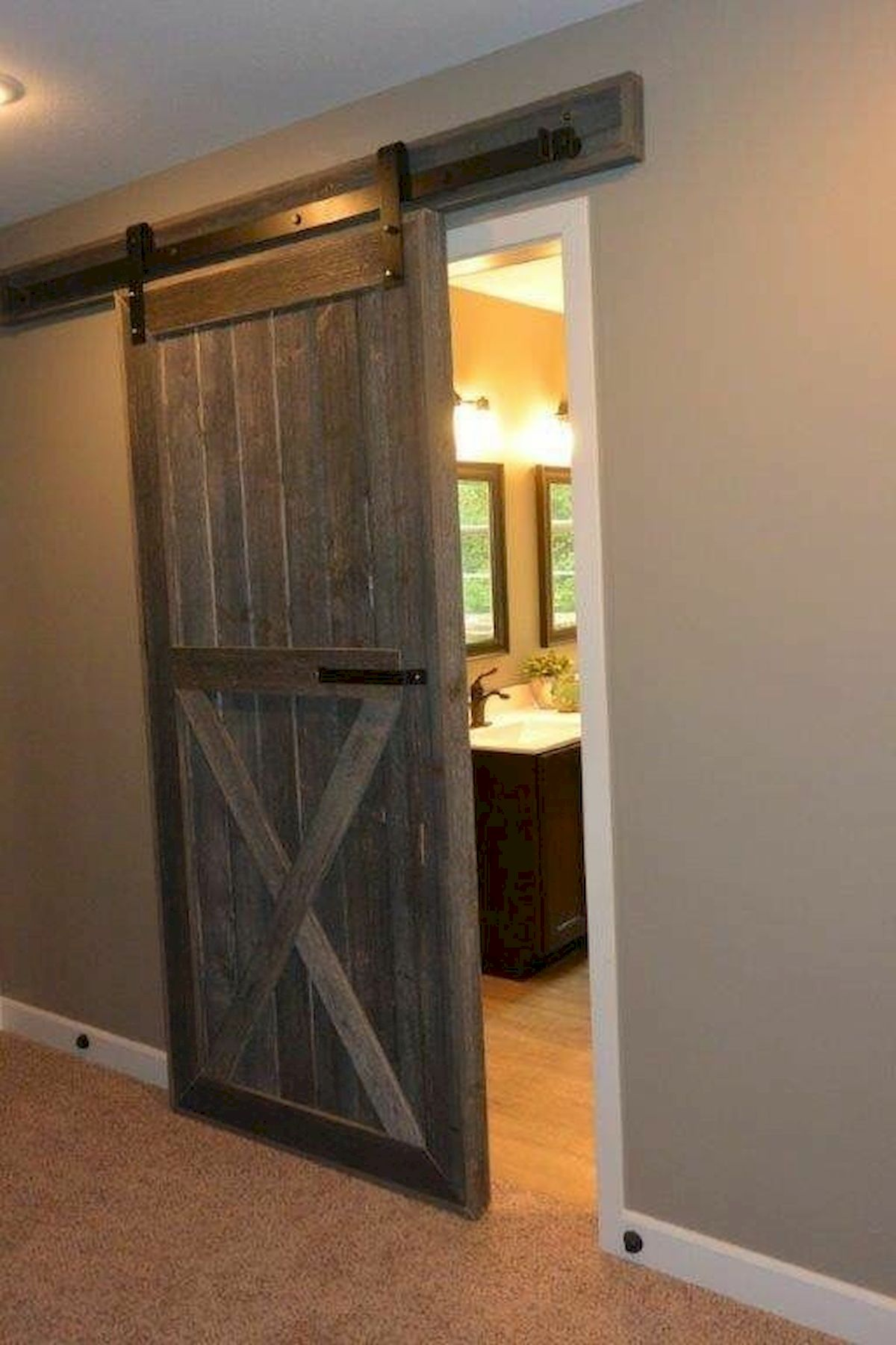 70 Rustic Home Decor Ideas for Doors and Windows (64)