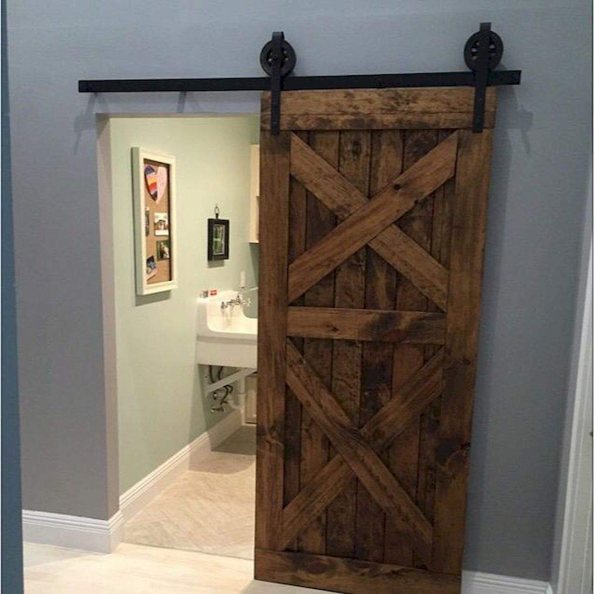 70 Rustic Home Decor Ideas for Doors and Windows (66)