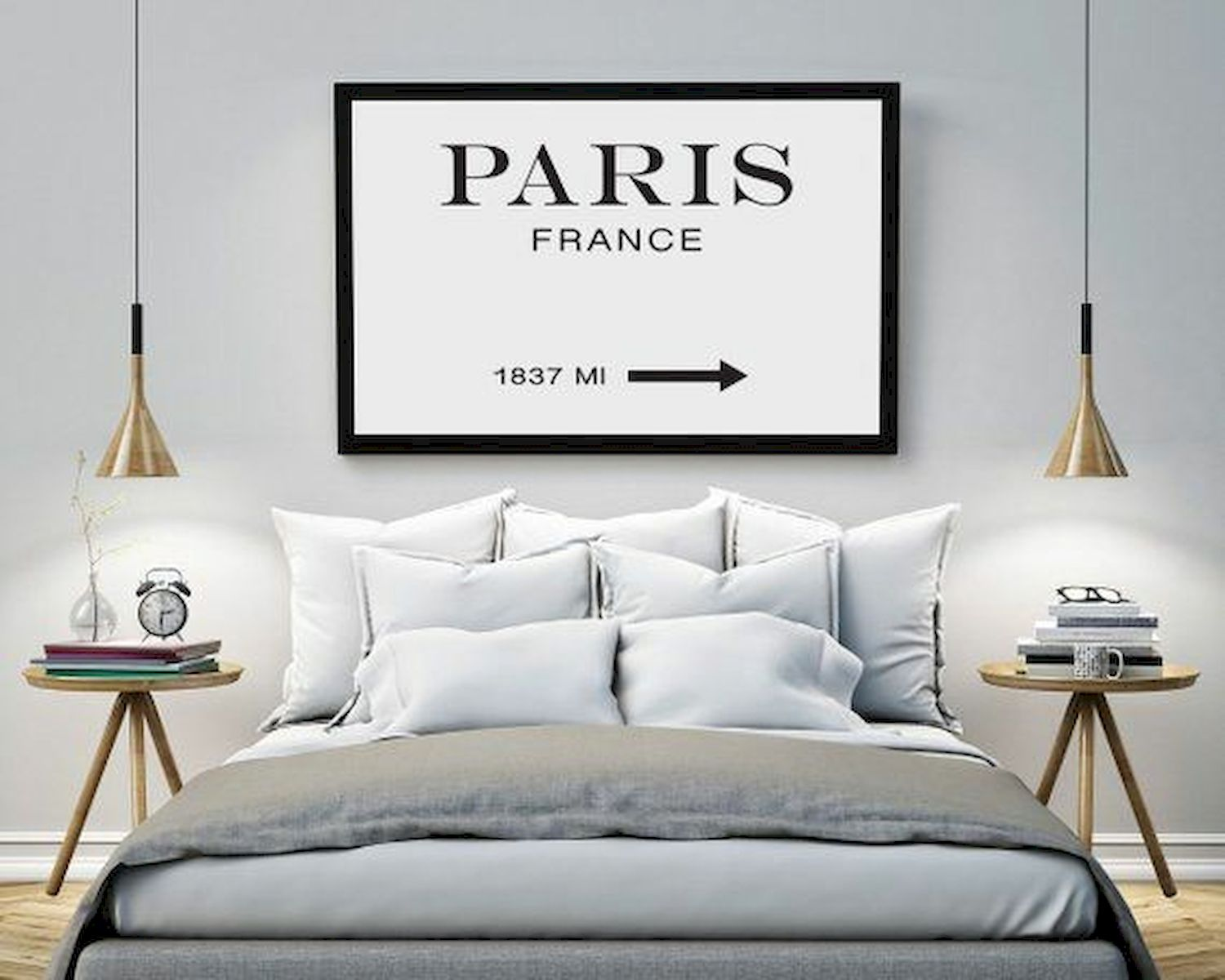 70 Simple Wall Bedroom Decor and Design Ideas (16)
