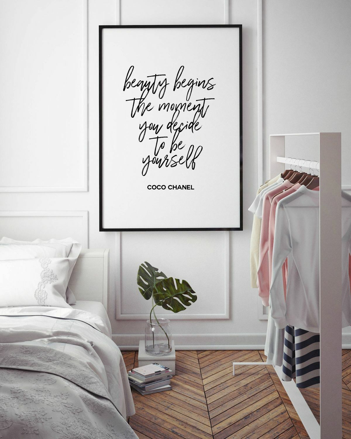 70 Simple Wall Bedroom Decor and Design Ideas (20)