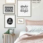 70 Simple Wall Bedroom Decor And Design Ideas (25)