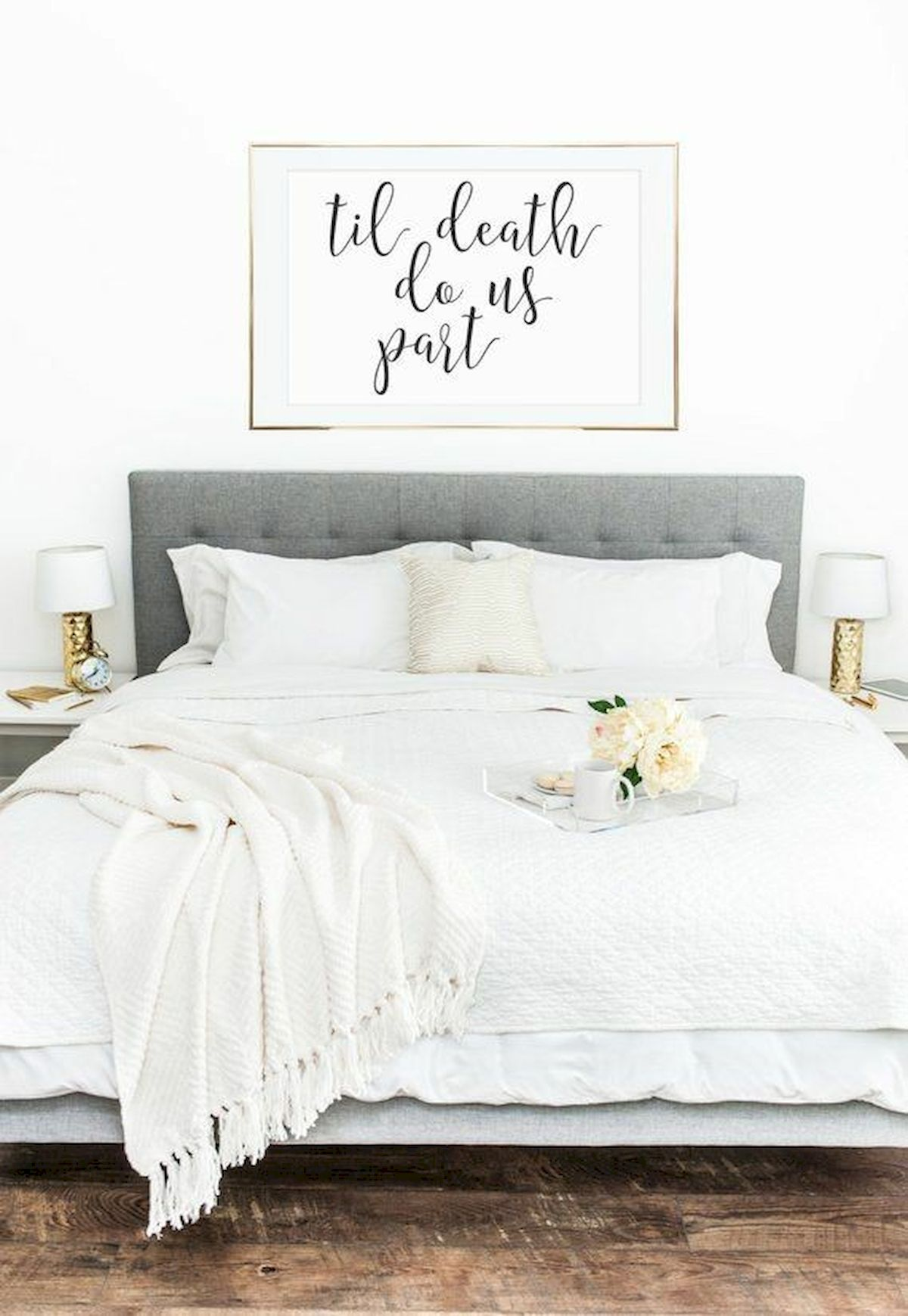 70 Simple Wall Bedroom Decor and Design Ideas (27)