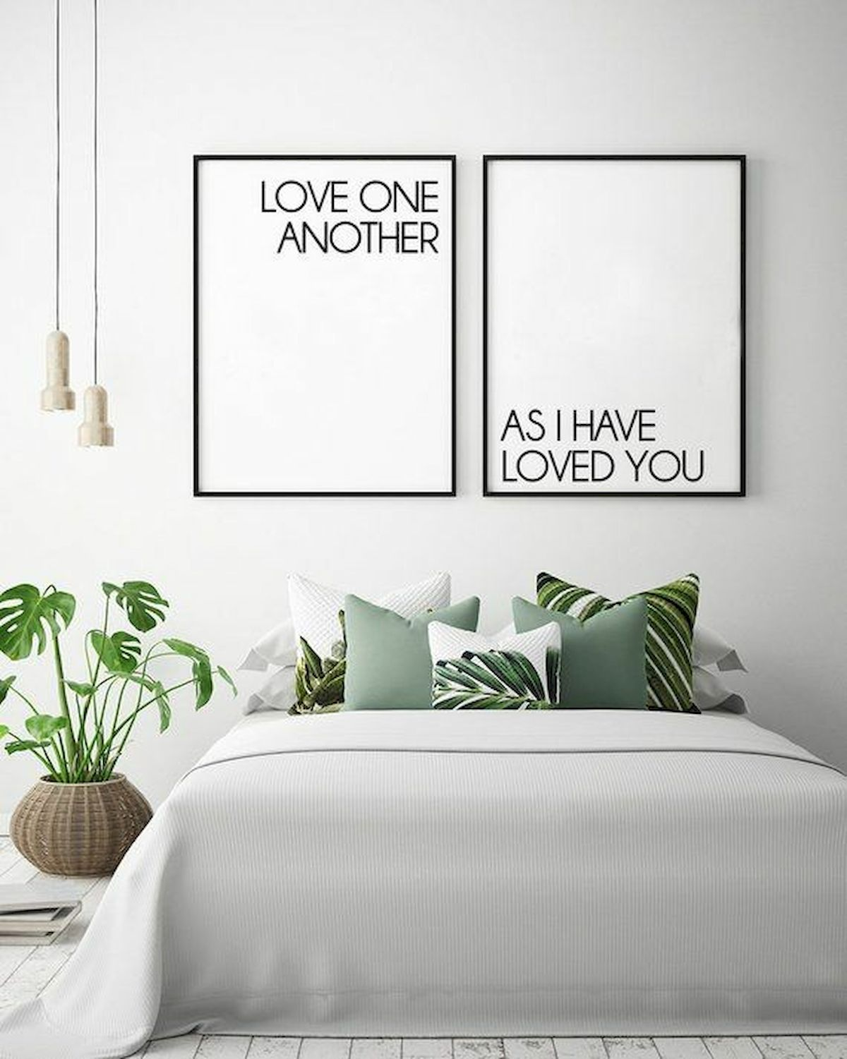70 Simple Wall Bedroom Decor and Design Ideas (33)