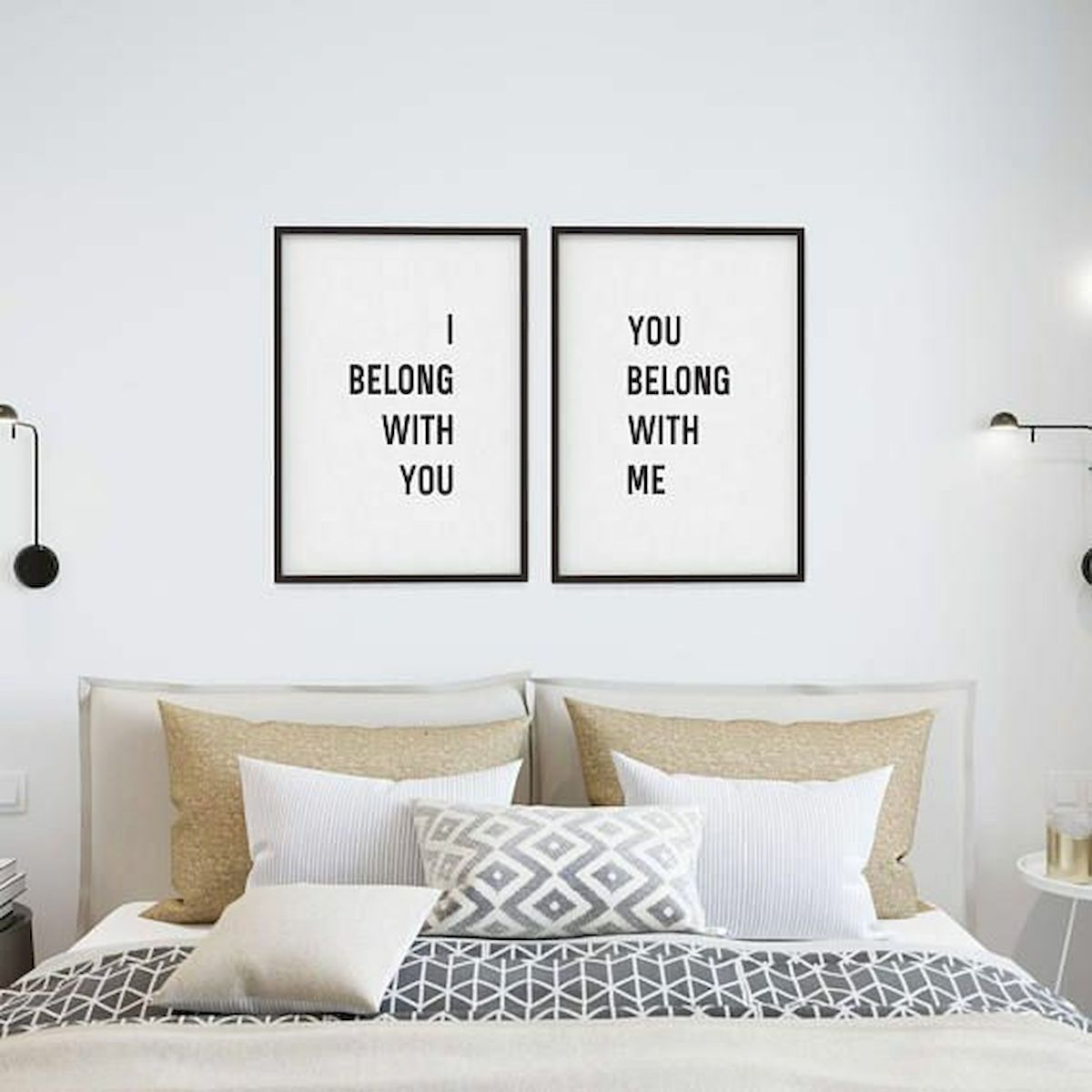 70 Simple Wall Bedroom Decor and Design Ideas (39)