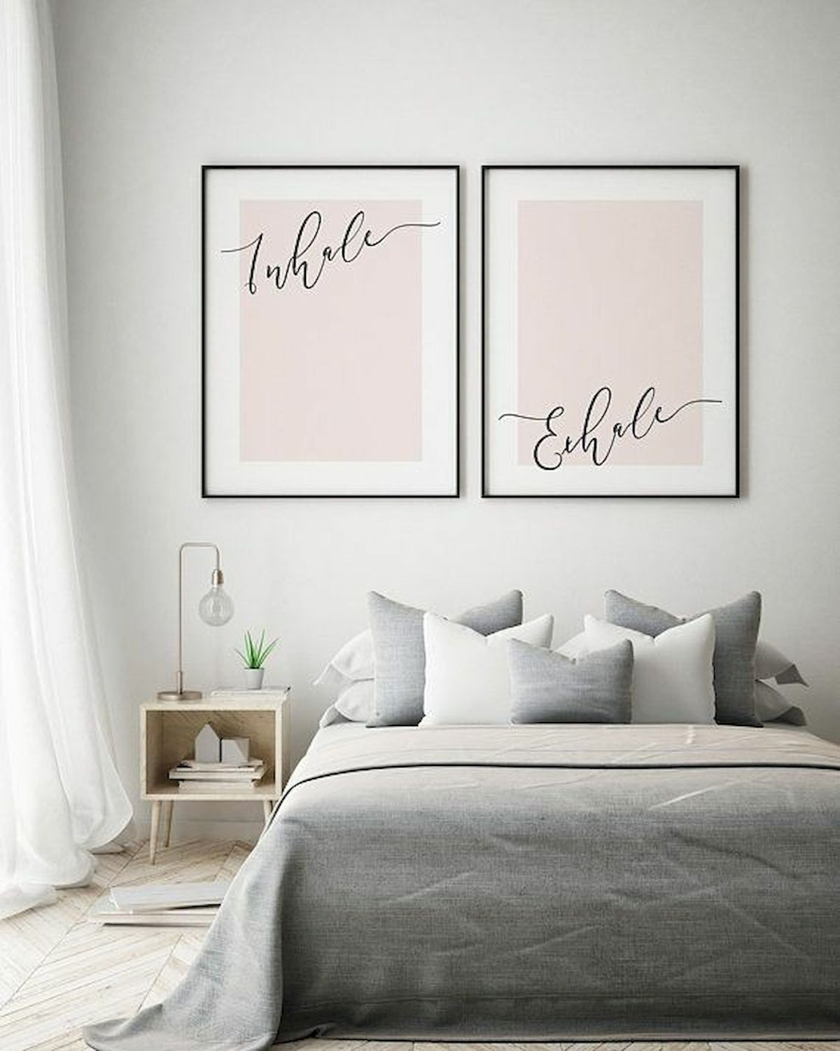 70 Simple Wall Bedroom Decor and Design Ideas (58)