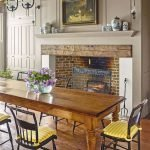 40 Adorable Farmhouse Dining Room Design and Decor Ideas (14)