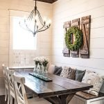 40 Adorable Farmhouse Dining Room Design and Decor Ideas (16)