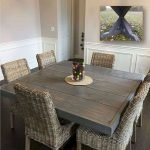 40 Adorable Farmhouse Dining Room Design and Decor Ideas (17)