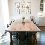 40 Adorable Farmhouse Dining Room Design And Decor Ideas (19)