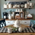 40 Adorable Farmhouse Dining Room Design And Decor Ideas (21)