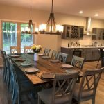 40 Adorable Farmhouse Dining Room Design and Decor Ideas (23)