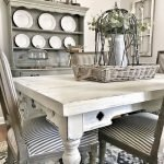 40 Adorable Farmhouse Dining Room Design And Decor Ideas (25)