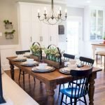 40 Adorable Farmhouse Dining Room Design and Decor Ideas (27)