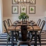 40 Adorable Farmhouse Dining Room Design And Decor Ideas (3)