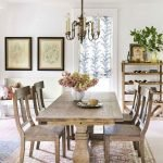40 Adorable Farmhouse Dining Room Design and Decor Ideas (39)