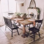 40 Adorable Farmhouse Dining Room Design and Decor Ideas (5)