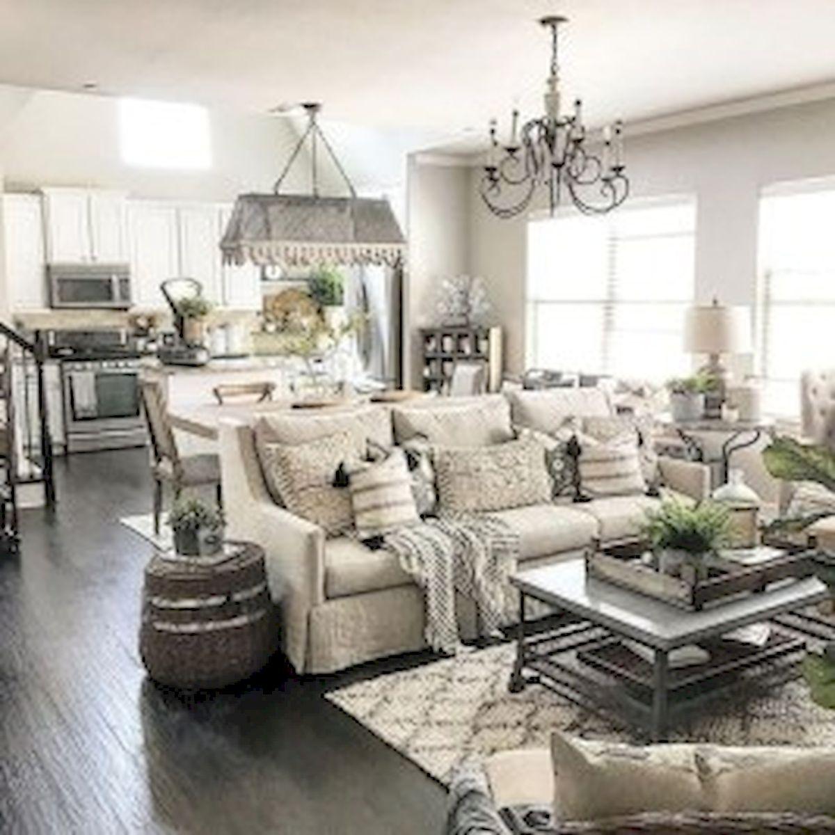 40+ Awesome Farmhouse Design Ideas For Living Room (20)