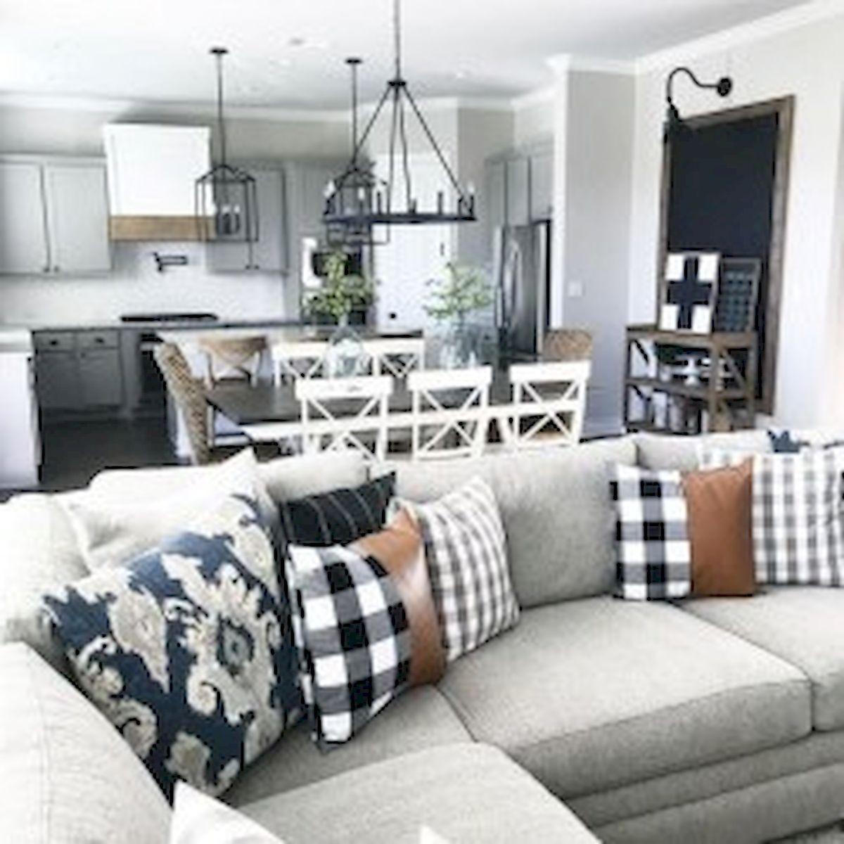 40+ Awesome Farmhouse Design Ideas For Living Room (22)