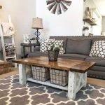 40+ Awesome Farmhouse Design Ideas For Living Room (24)