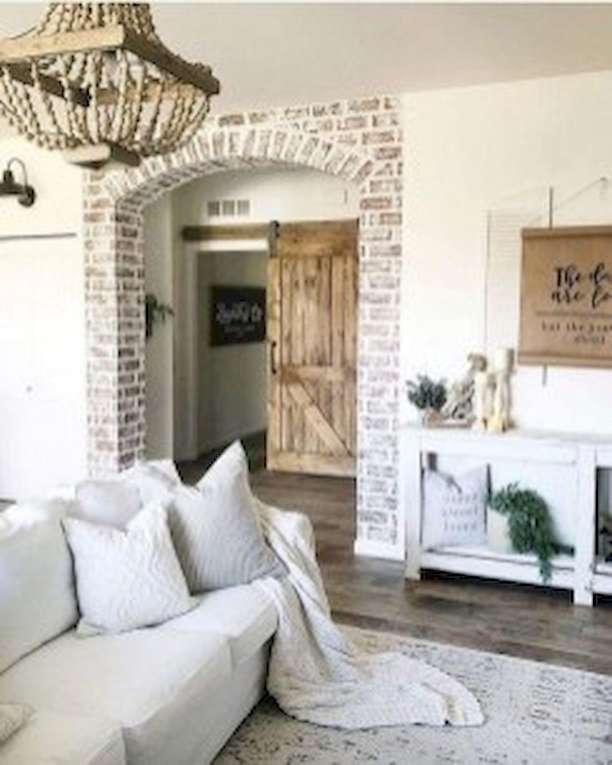 40+ Awesome Farmhouse Design Ideas For Living Room (30)