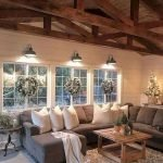40+ Awesome Farmhouse Design Ideas For Living Room (33)