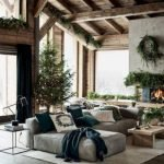 40+ Awesome Farmhouse Design Ideas For Living Room (34)