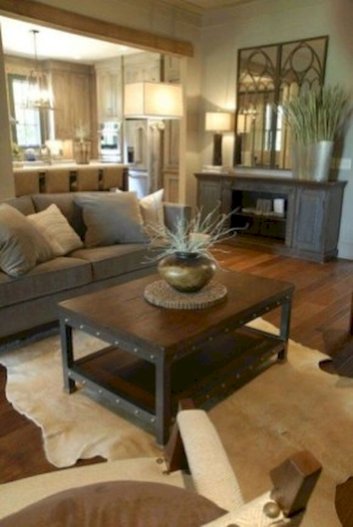 40+ Awesome Farmhouse Design Ideas For Living Room (35)