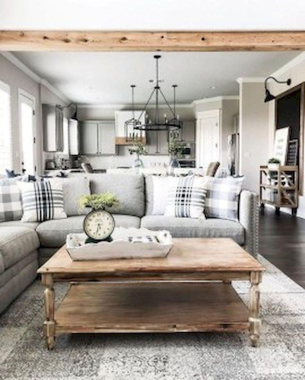 40+ Awesome Farmhouse Design Ideas For Living Room (38)