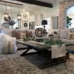 40+ Awesome Farmhouse Design Ideas For Living Room (42)
