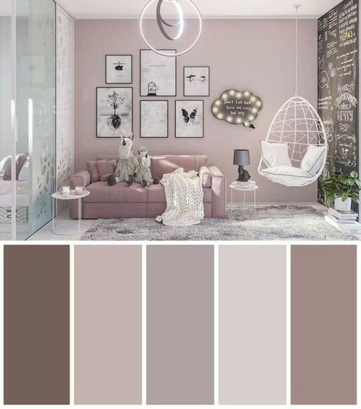 40 Gorgeous Living Room Color Schemes Ideas (14) - house8055.com