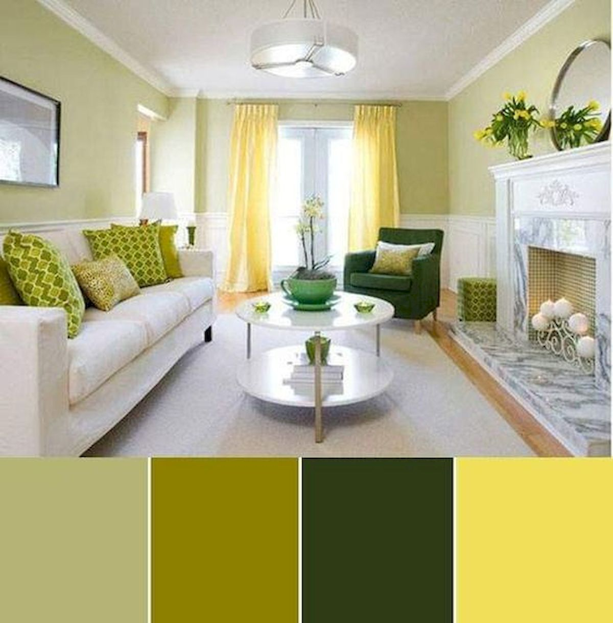 40 Gorgeous Living Room Color Schemes Ideas - house8055.com