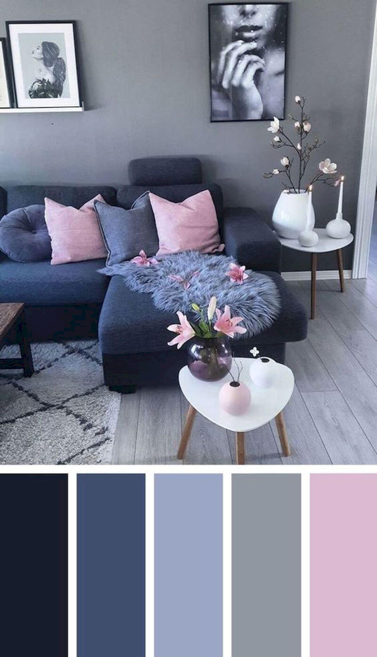 40 Gorgeous Living Room Color Schemes Ideas (3)