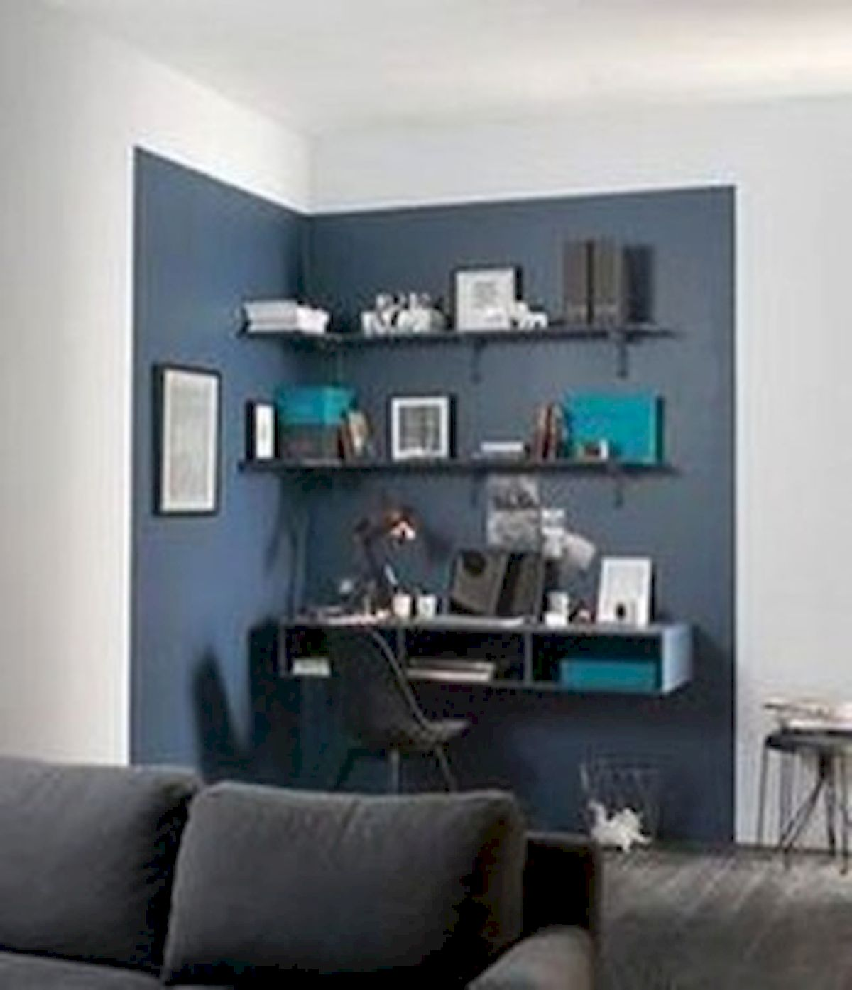 45 Adorable Home Office Decoration Ideas (11)