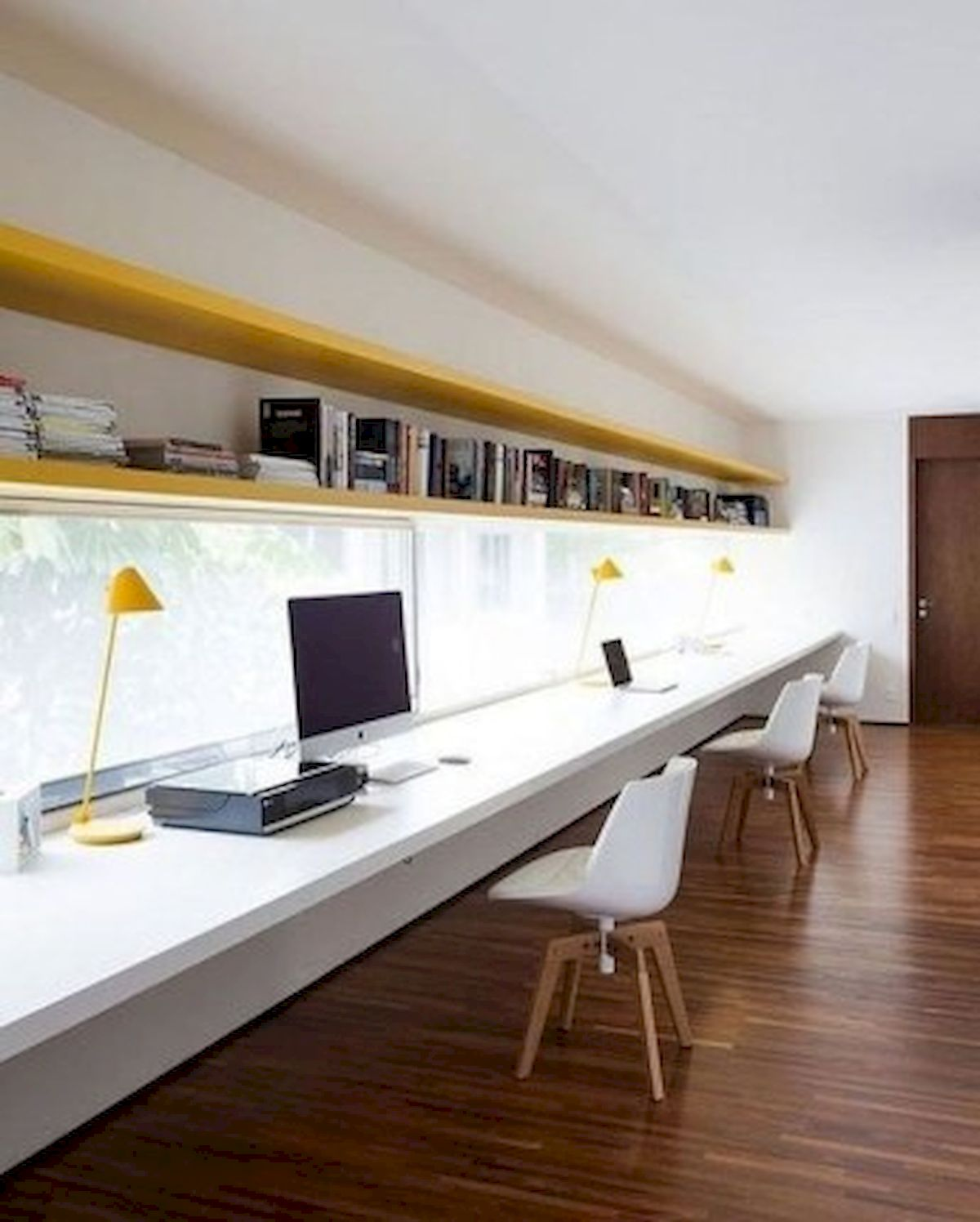 45 Adorable Home Office Decoration Ideas (14)