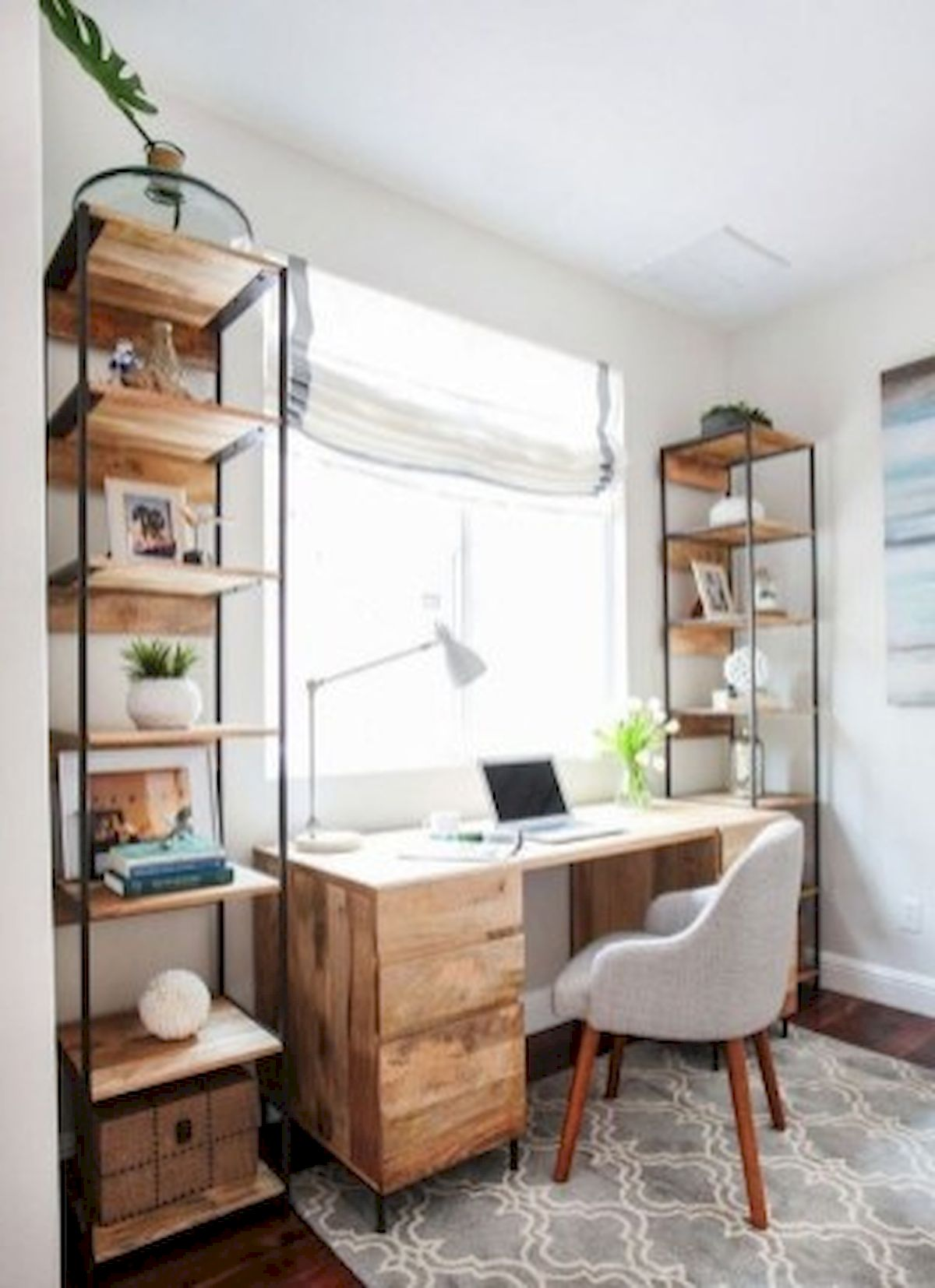 45 Adorable Home Office Decoration Ideas (17)
